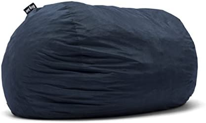Christopher Knight Home Haley 6 Ft Faux Suede Microfiber Bean Bag Black