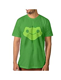 SUEPER Men's OverLucio Video Game Hero Athletic Shirt Short Sleeve T-shirt Black
