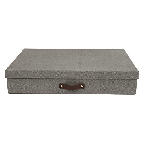 Bigso Sverker Canvas Paper Laminate Art Storage Box, -