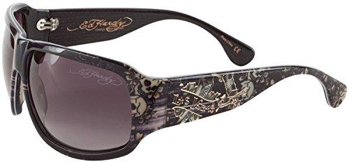 Ed Hardy EHS Rock Sunglasses Grey - Sunglasses Ed Hardy