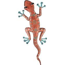Regal Art & Gift Gecko Decor, 11-Inch Copper (05194)