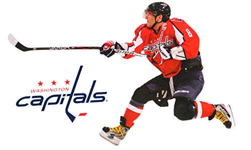 FATHEAD Alex Ovechkin Mini Washington Capitals Logo Official NHL Vinyl Wall Graphics 7