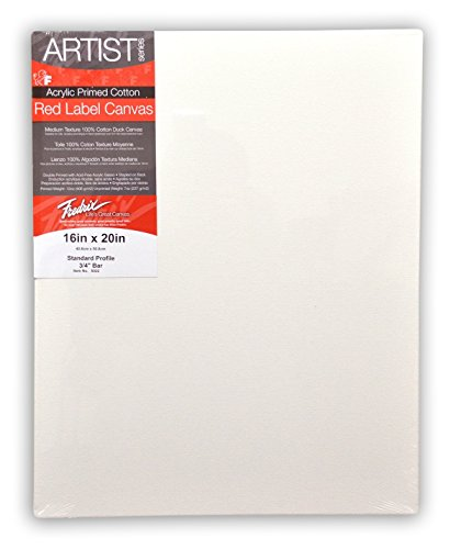 Fredrix 5024 Stretched Canvas, 18 by 36-Inch