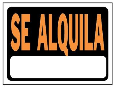 Hy-ko productos 3103 8,5 x 12 en. Se Alquila sign44; Paquete ...