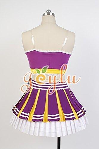 Jeylu LoveLive. Nozomi Tojo Cheerleaders Uniforme Cosplay ...