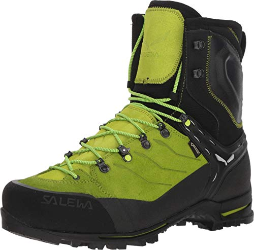 Salewa Men's Vultur EVO GTX Mountaineering Boots Black/Cactus 10.5