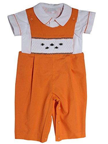 Carouselwear Baby and Toddler Boys Halloween Fall Smocked