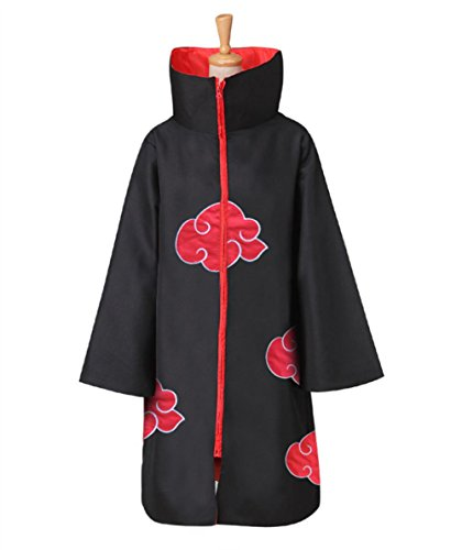 Jerry Ninja Halloween Cosplay Costume Mens Cloak Cosplay Akatsuki Organization Members