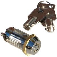 Seco-Larm Enforcer SPST Tubular Key Lock, Key #1307 (SS-095-1H7)