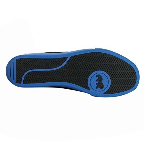 Lonsdale Canons Baskets pour homme Noir/bleu décontracté Sneakers Chaussures Chaussures