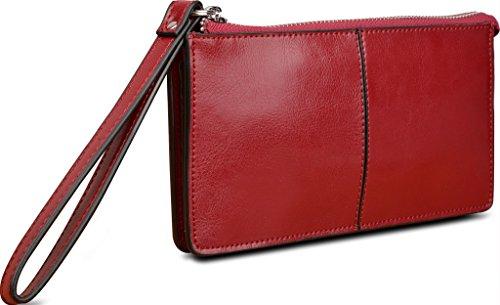 YALUXE Leather Checkbook iPhone6 Samsung