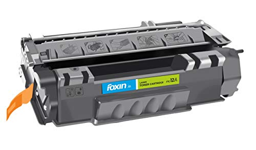 Foxin FTC-12A Toner Cartridge Compatible for Hp/Canon Laser-Jet Series (Black)