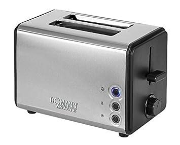 Bomann TA 1371 CB Toastautomat, schwarz / edelstahl: Amazon.de ...