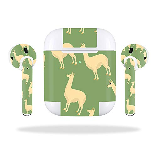 016c0b7e684 MightySkins Skin Compatible with Apple AirPods 2 (2019) - Llama |  Protective, Durable