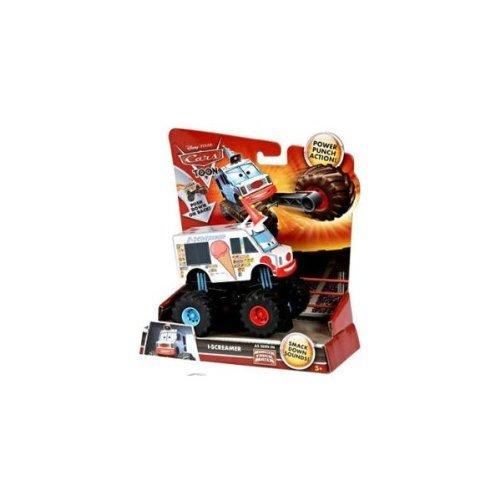 Cars Monster I-Screamer Ice Creamer Smack Down Sounds As Seen in Monster Truck Mater Power Punch Action Mattel (Sound Monster Truck)