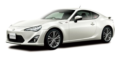Aoshima Models 2012 Scion FR-S Model Building Kit (Toyota FT86), Scale 1/24