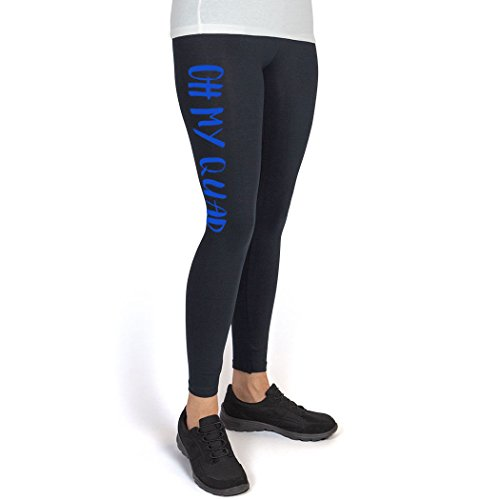 6b02398d6d327 Cross Training High Print Legging Oh My Quad at Amazon Women's Clothing  store: