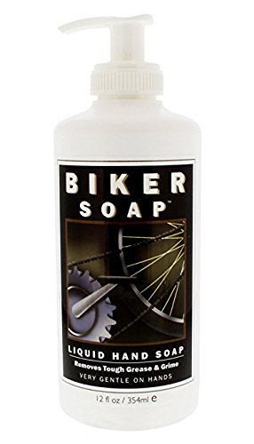 (Shikai - Natural Cleansing Biker Soap, Gently Removes the Toughest Oils, Grease and Road Dirt (Unscented, 12 Ounces))
