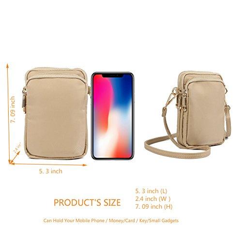 Crossbody Crossbody HAIDEXI Small Women Bags women Smartphone Purse purse A for Phone purse Women holder For Cell phone white tXrXq