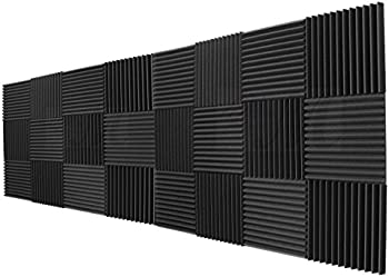 24-Pk. Mybecca Acoustic Panels Studio Foam Wedges