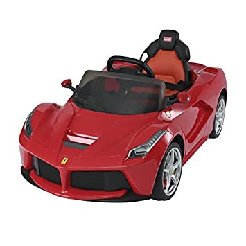 Aosom 12V Ferrari LaFerrari Kids Electric Ride On Car With MP3 And Remote  Control   Red