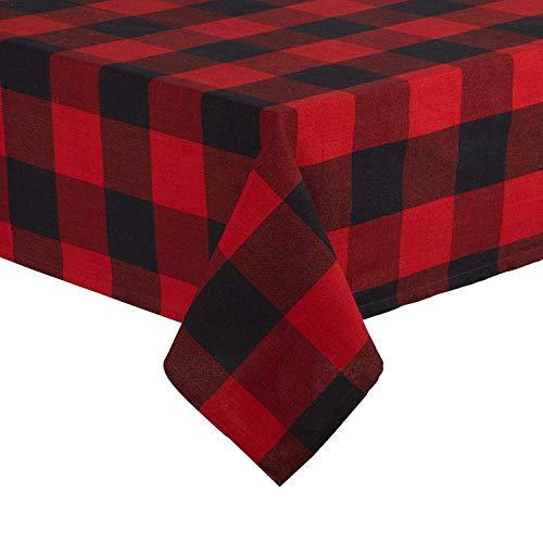 GiftWrap Etc. Buffalo Check Tablecloth Christmas Plaid -