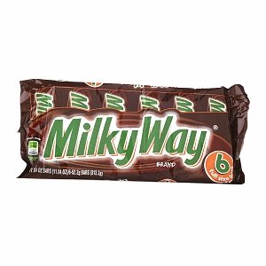 Milky Way Full Size Candy Bars, 1.84 oz, 6 count (Candy Bar Milky Way)