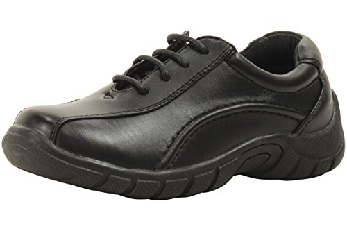 Easy Strider Boys The Triathelete Fashion Sneakers School Uniform Shoes Black