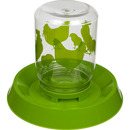 Lixit Chicken Feeder/Waterer, 64-Ounce