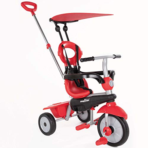 Toy Trike (smarTrike Zoom 4 in 1 baby Tricycle, Red)