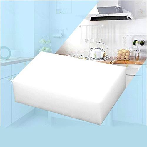 TOOGOO 10 pieces Magic Sponge Eraser Kitchen duster Car wipes Home Clean Accessory/Microfiber Dish Cleaning sponge nano 10x6x2cm