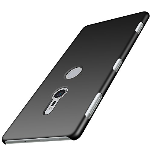 Anccer Sony Xperia XZ2 Case [Colorful Series] [Ultra-Thin] [Anti-Drop] Premium Material Slim Cover for Sony Xperia XZ2 2018 (Smooth Black)