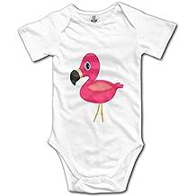 Kkajjhd Baby Flamingo Kids Boys Girls Baby Bodysuit Outfits Baby Onesies