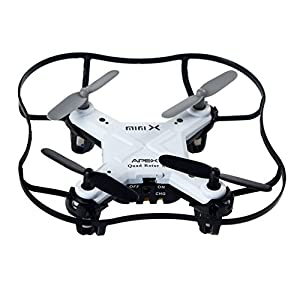 Mini RC Quadcopter 4 Channel 2.4 GHz 6-axis Gyro ,Mini Drone RTF GD50F (White) from ZH Electrinic Co ., Ltd