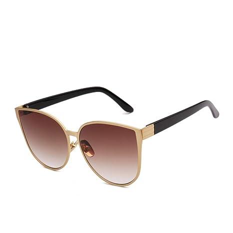 Yangjing-hl Gafas de Sol Reflective Face Super Large Box ...