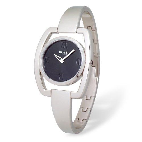 Hugo Boss Black Dial Stainless Steel Ladies Watch HB1502047