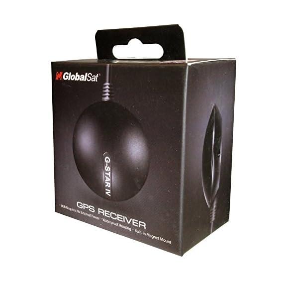 Globalsat USB GPS Receiver (Black)