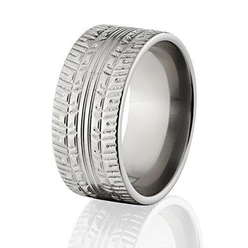 Tire Ring Wedding Rings Tread USA Made