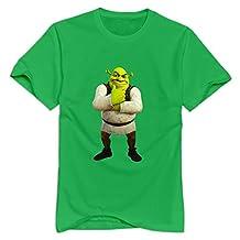 StaBe Men Shrek T-Shirt Cotton Sport XS ForestGreen