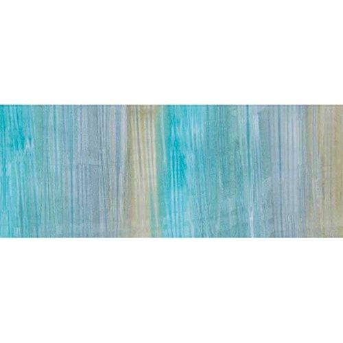 Patina Handpaints - Robert Kaufman Patina Handpaints Artisan Batiks Aqua Ombre Stripe