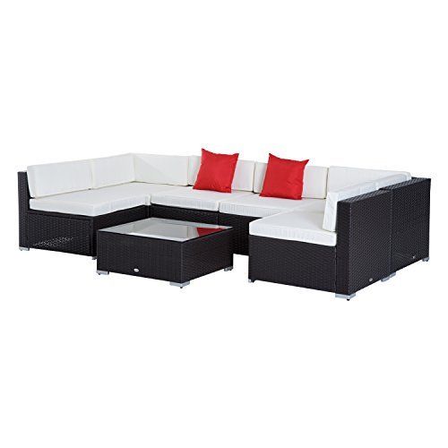 Outsunny Outdoor Sectional Conversation Furniture Basic Info