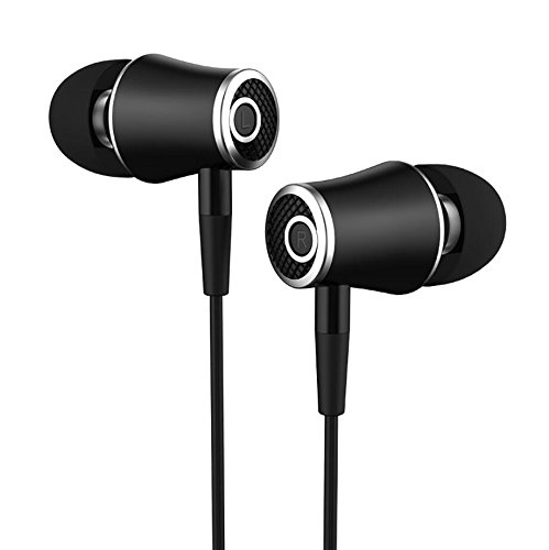 Accessonico Earbuds Compatible with Samsung Galaxy S9, Compatible with Galaxy S8 Active Earphones, Headphones Microphone Phone Call in-Ear Stereo Sound Music Noise Cancelling Wired Control