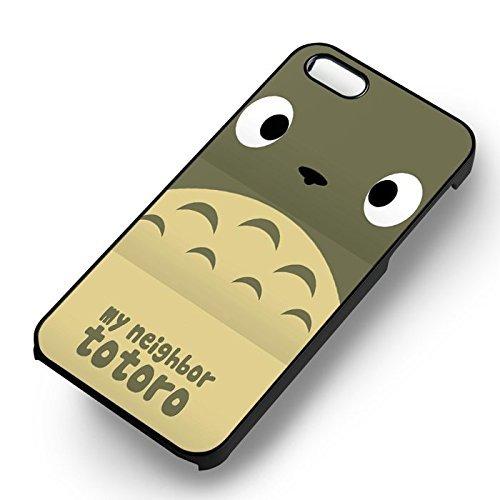 Anime My Neighbor pour Coque Iphone 6 et Coque Iphone 6s Case (Noir Boîtier en plastique dur) J4T8GW