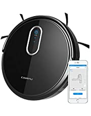Coayu Smart Robot Vacuum Mop Cleaner with App,Magnetic Strip,Electric Control Water Tank and Slim Design for Hard Floors,Tile and Thin Carpets