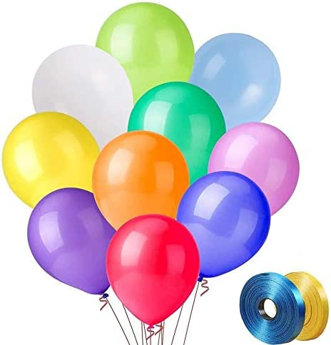 Printed Happy Birthday Pure Latex Helium Balloons Party Baloon Air Colours 12inc