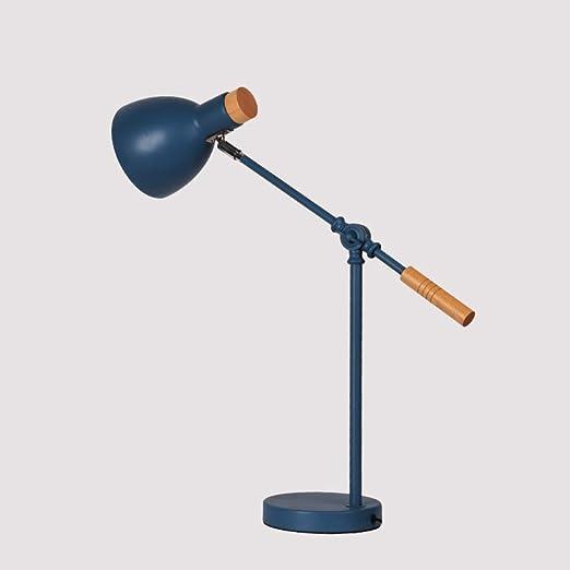 JFHGNJ lámpara de Mesa Sala de Estar Ojo Mesa de Hierro Escritorio ...