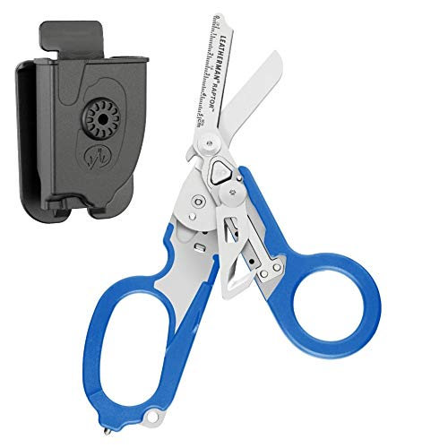 LEATHERMAN - Raptor Shears, with MOLLE Compatible Holster (Blue) by LEATHERMAN (Image #1)