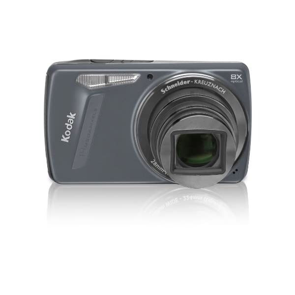 RetinaPix Kodak Easyshare M580 14 MP Digital Camera with 8x Wide Angle Optical Zoom and 3. 0-Inch LCD (Blue)