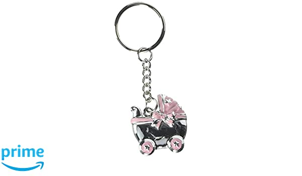 Amazon.com : Fashioncraft Baby Carriage Design Key Chains ...
