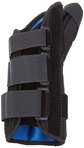 RolyanFit Wrist and Thumb Spica, Left Small, MP & CMC Joint Support and Stabilizer, Secure Brace & Splint for Thumb with Open Finger, Splint for Pain, Strains, Arthritis, Carpal Tunnel, -